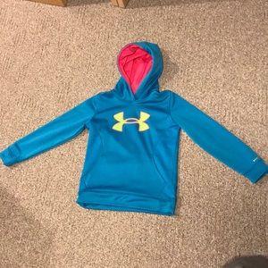 Slightly used YMD turquoise sweatshirt